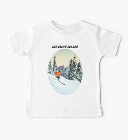 The Clear Leader With A Banner Baby Tee