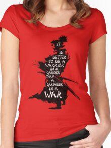 Warrior's Garden Women's Fitted Scoop T-Shirt
