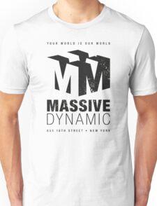 Massive Dynamic (aged look) Unisex T-Shirt
