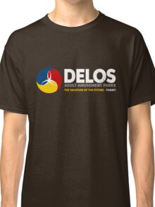 Delos – Adult Amusement Parks (aged look) Classic T-Shirt