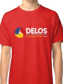 Delos – Adult Amusement Parks (aged look) Classic T-Shirt