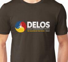 Delos – Adult Amusement Parks (aged look) Unisex T-Shirt
