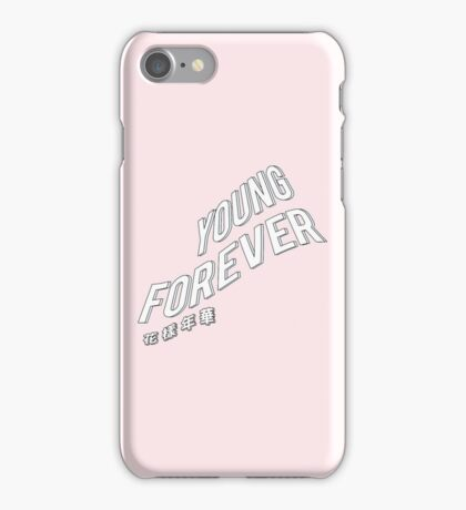 BTS Bangtan YOUNG FOREVER 화양연화 iPhone Case/Skin