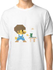 Super BobRossario Bros. Classic T-Shirt