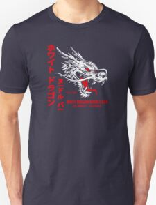 White Dragon Noodle Bar (aged look) Unisex T-Shirt