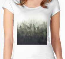 The Heart Of My Heart // Green Mountain Edit Women's Fitted Scoop T-Shirt
