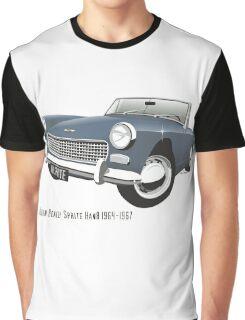 Austin Healey Sprite mark 3 blue Graphic T-Shirt