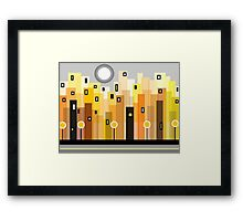 Escape To The City Framed Print