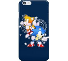 Classic Sonic and Tails 25th Anniversary Style iPhone Case/Skin