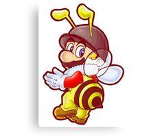 Bee Mario Canvas Print