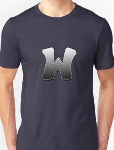Letter W Unisex T-Shirt