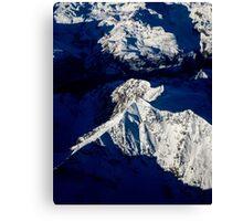Aerial Winter Peak Canvas Print