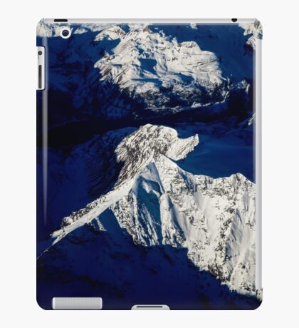 Aerial Winter Peak iPad Case/Skin