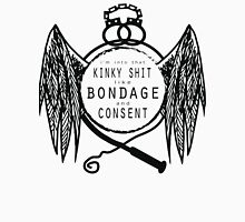 Bondage and Consent Women's Fitted V-Neck T-Shirt