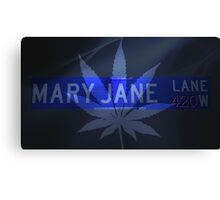 Mary Jane - Cool Canvas Print