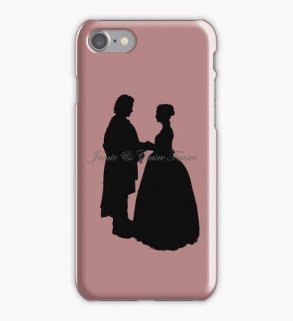 Outlander/Wedding silhouette  iPhone Case/Skin