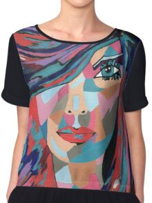 Psychedelic Jane Chiffon Top