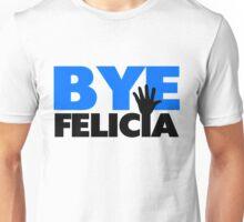 Bye Felicia Hand Wave Bold Blue Unisex T-Shirt