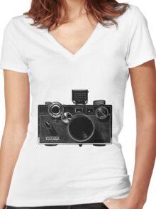 Argus C3 Women's Fitted V-Neck T-Shirt