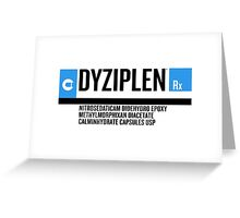 Dyziplen Greeting Card