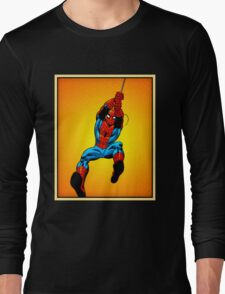 Comic Spider Man Long Sleeve T-Shirt