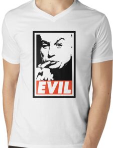 Dr. Evil Mens V-Neck T-Shirt