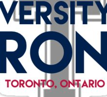 UofT with Varsity Blues Sticker