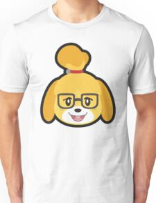 ISABELLE CASUAL ANIMAL CROSSING Unisex T-Shirt