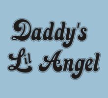 Daddy's Lil Angel Baby Tee