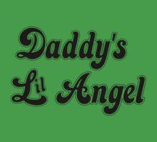 Daddy's Lil Angel One Piece - Short Sleeve