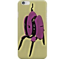 Portal - Turret Soup Pink/Yellow iPhone Case/Skin