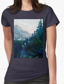 Heritage Art Series - Jade Womens Fitted T-Shirt