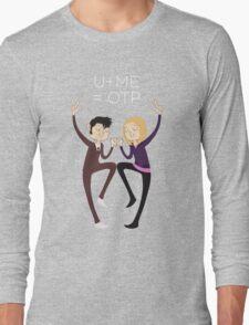 U+ME=OTP 10xROSE Long Sleeve T-Shirt