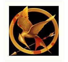 Hunger Games Pin - (Designs4You) Art Print