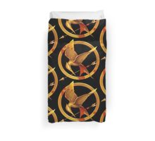 Hunger Games Pin - (Designs4You) Duvet Cover
