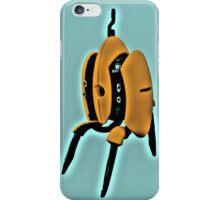 Portal - Turret Soup Orange/Blue iPhone Case/Skin