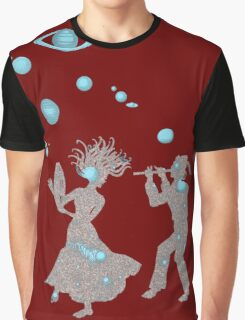 Cosmic Dance with Music of the Spheres Graphic T-Shirt