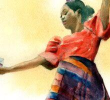 Filipino Dancer 02 Sticker