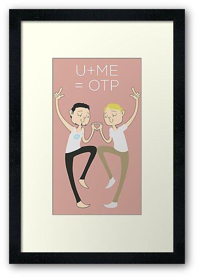 U+ME=OTP TONYxSTEVE by nickelcurry