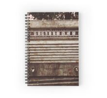Old Vintage Radio Spiral Notebook