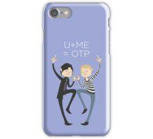 U+ME=OTP JOHNLOCK iPhone Case/Skin