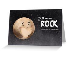 Pluto Greeting Card