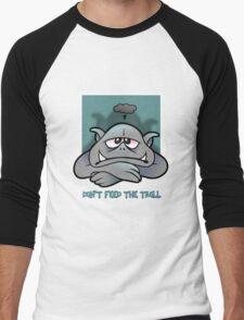 Trolls will be trolls Men's Baseball ¾ T-Shirt