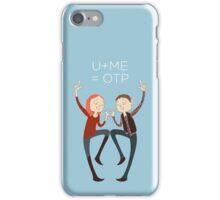 U+ME=OTP AMYxRORY iPhone Case/Skin