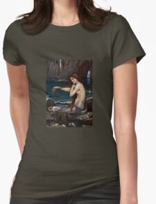 The Mermaid Womens Fitted T-Shirt