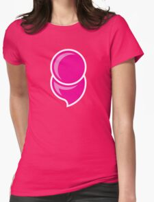Mental Illness Semicolon PINK Womens Fitted T-Shirt