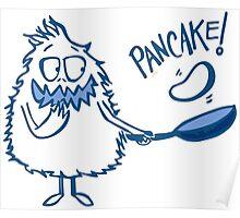 Monster Pancake Poster