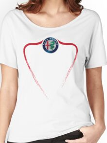 Alfa Romeo of Birmingham front Women's Relaxed Fit T-Shirt