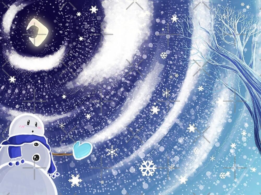 Moon Snow by SaradaBoru