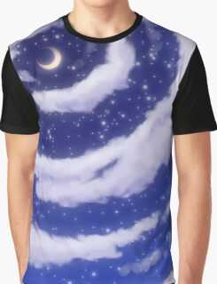 The Moon in the Sky Graphic T-Shirt